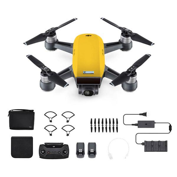 DJI Spark Fly More Combo Sonnengelb - Gelb - Selfie Drohne – Bild 1