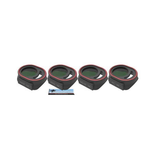 Premium Filter Set für DJI Spark - CPL, ND4, ND8, ND16 - Freewell - Standard Day – Bild 2