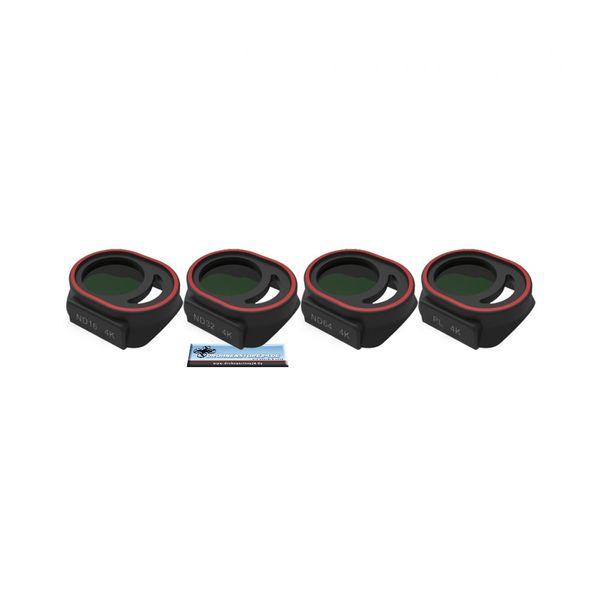 Premium Helligkeits Filter Set für DJI Spark - CPL, ND16, ND32, ND64 - Freewell - Bright Day – Bild 2