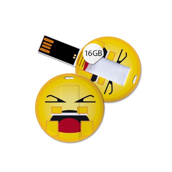 USB SET in Emoticon Optik - 5er SET mit 16GB Speicher - Ohne Worte – Bild 5