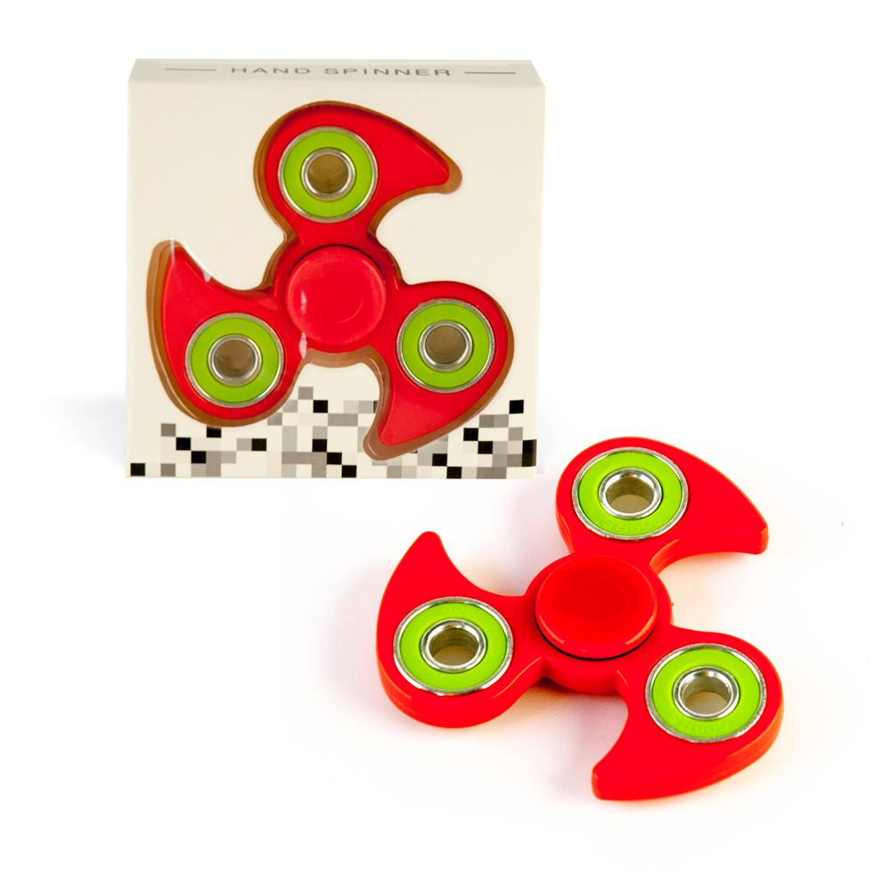 DS24 Spinner in Rot Grün - Hand Spinner - Fidget Spinner sofort  DE frei Haus