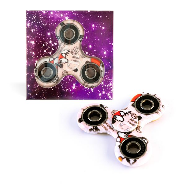 DS24 Spinner in Rosa Kitty Design - Hand Spinner - Fidget Spinner   DE frei Haus – Bild 1