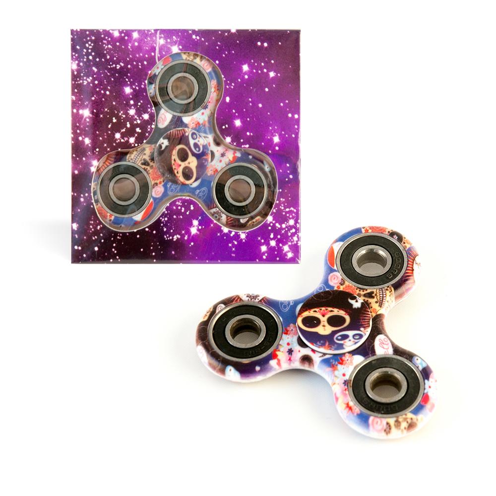 DS24 Spinner in Alien Design Bunt - Hand Spinner - Fidget Spinner   DE frei Haus