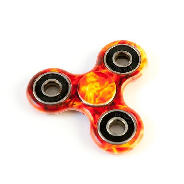 DS24 Spinner in Feuer Design - Hand Spinner - Fidget Spinner   DE frei Haus – Bild 3