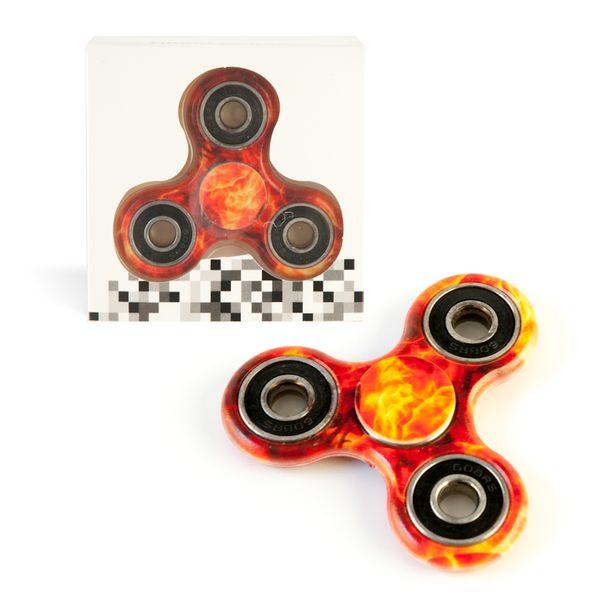 DS24 Spinner in Feuer Design - Hand Spinner - Fidget Spinner   DE frei Haus – Bild 1