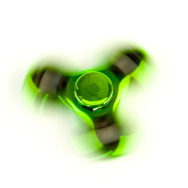 DS24 Spinner in Grün Metallic - Hand Spinner - Fidget Spinner  DE frei Haus – Bild 2