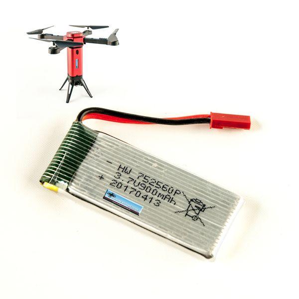 DS24 Ersatz Akku für L6059W Drohne 3.7V 900mAh - Quadrocopter Lipo – Bild 1