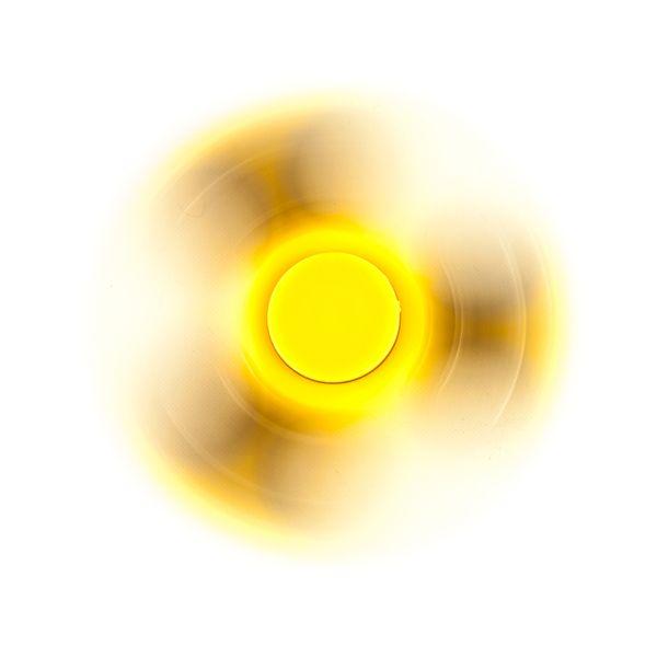 DS24 Spinner in Uni GELB- Hand Spinner - Fidget Spinner  DE frei Haus – Bild 2