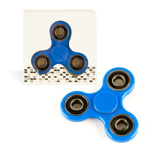 DS24 Spinner in Uni BLAU - Hand Spinner - Fidget Spinner  DE frei Haus – Bild 1