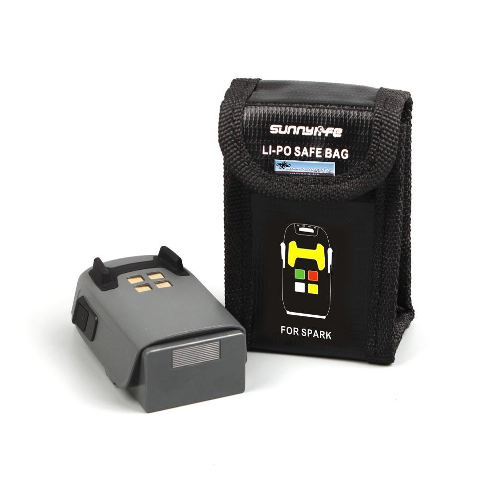 DS24 LIPO Schutztasche f. DJI Spark und Mavic Mini AKKU / Batterie