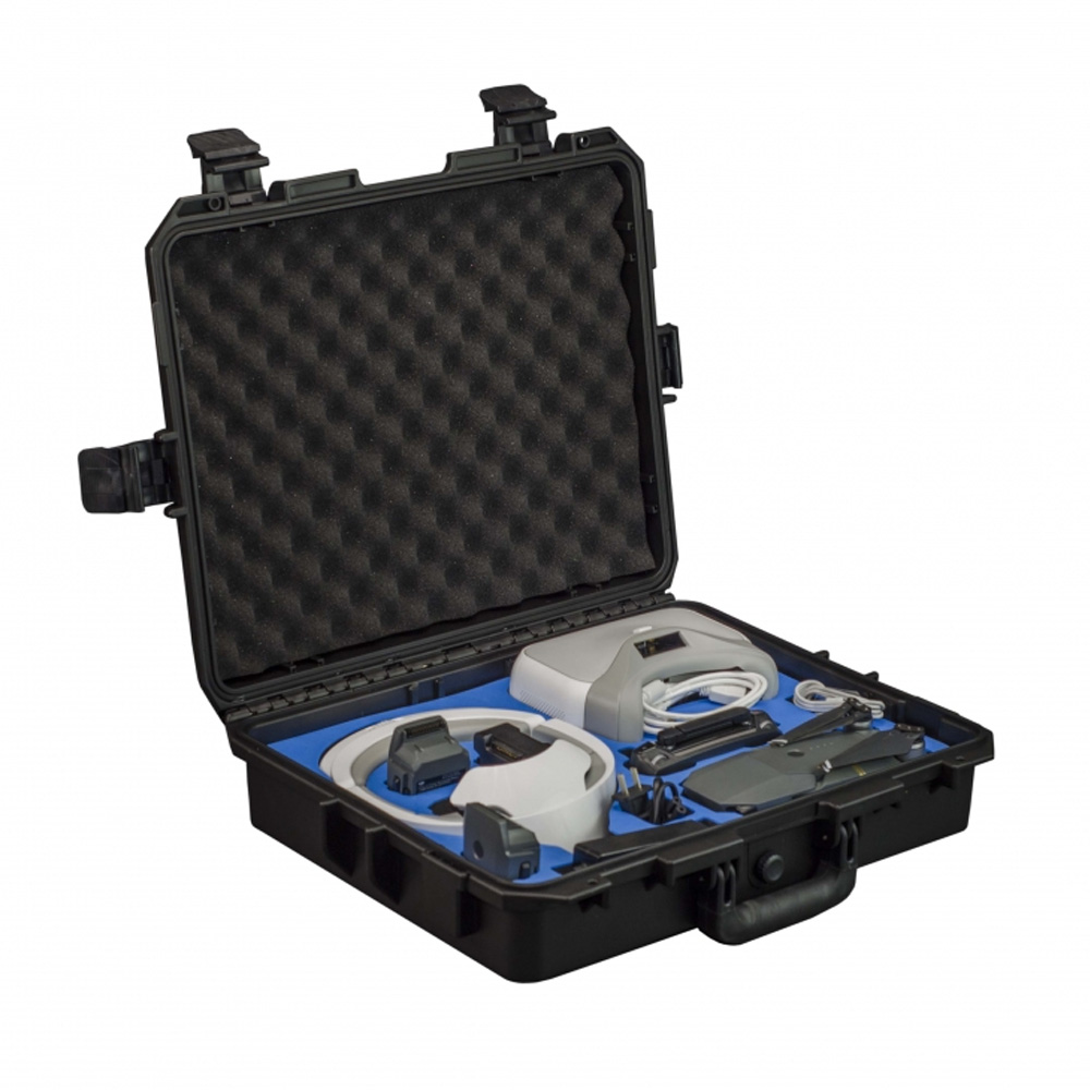 Profi Transportkoffer für DJI Mavic Pro und Goggle - Platz für bis zu 8  Akkus und Zubehör - Koffer - Perfekt zum Reisen - Freewell Edition