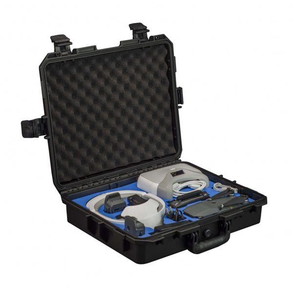 Profi Transportkoffer für DJI Mavic Pro und Goggle - Platz für bis zu 4 Akkus und Zubehör - Koffer - Perfekt zum Reisen - Freewell Edition  – Bild 1