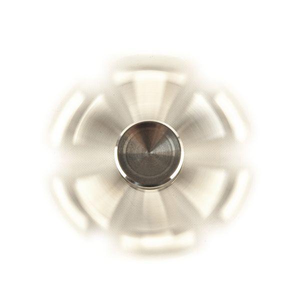 DS24 Premium Spinner Silber Kegel 6 Arme - Hand Spinner - Profi Spinner - High Quality  DE frei Haus – Bild 2