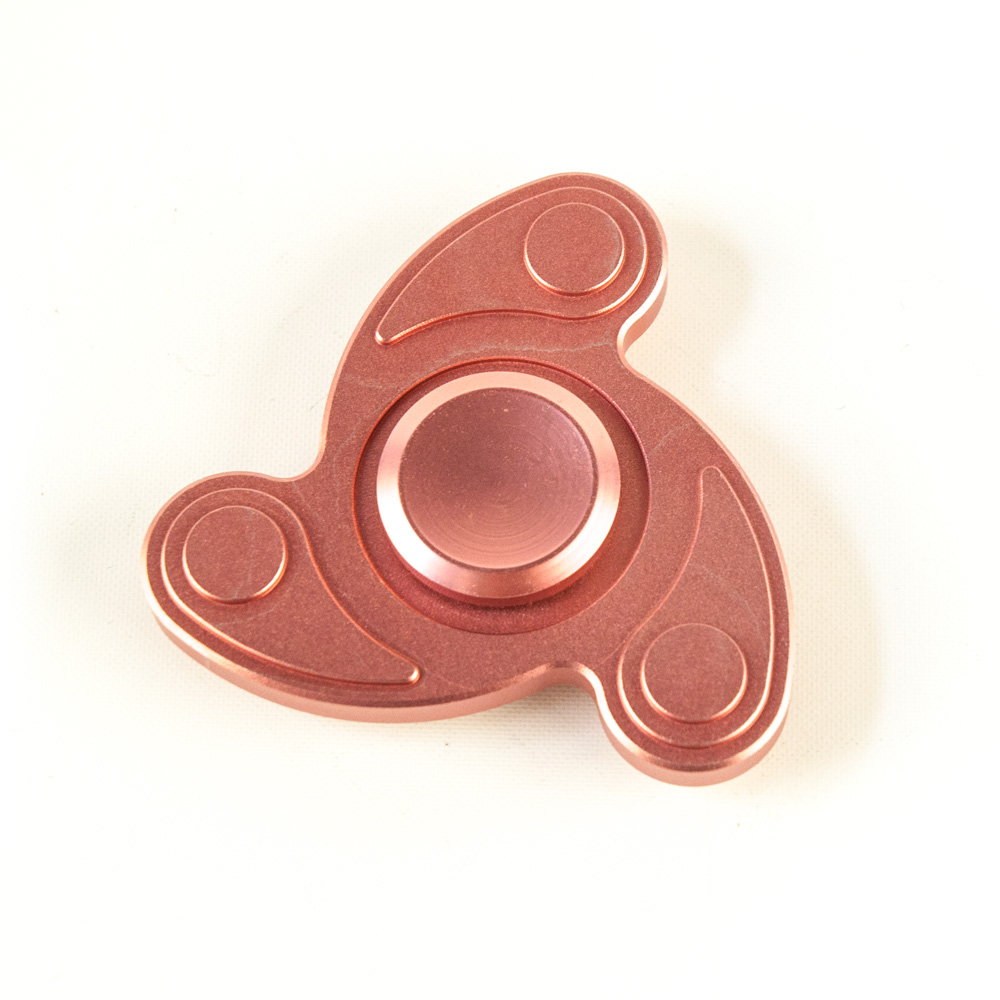 DS24 Premium Spinner Swing Rosa  - Hand Spinner Metall - Profi Spinner - High Quality  DE frei Haus