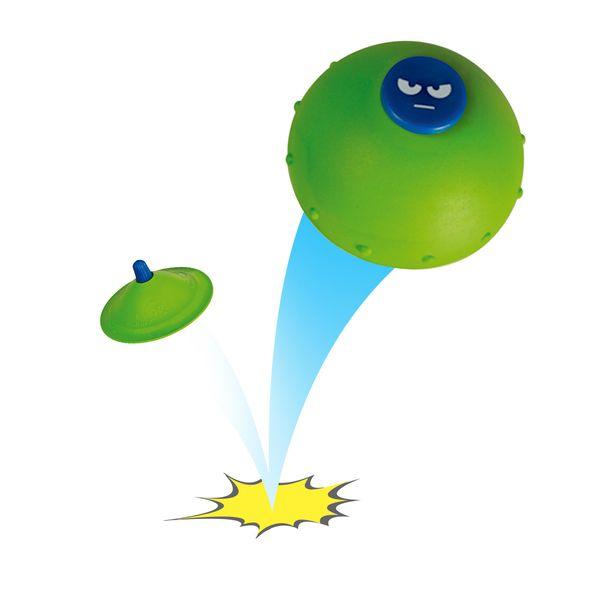 DS24 Thunder Pops 2er Set in Grün und Blau  - Gummi Ufo Schnalzer Popper Spring Pop – Bild 4