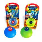 DS24 Thunder Pops 2er Set in Grün und Blau  - Gummi Ufo Schnalzer Popper Spring Pop