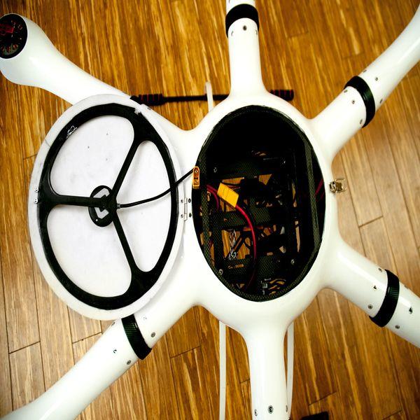 BAT H1000 Drohne Hexacopter - Copter für Gewerbetreibende - Gewerbe Drohne – Bild 6