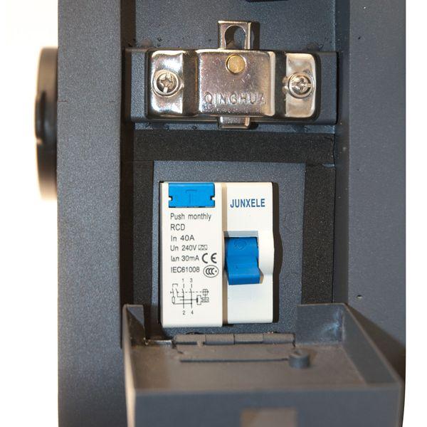 Ladegerät Wallbox HF Serie 1 Phasig 230V 7.2kW 32A Typ 2 Steckdose für Elektrofahrzeug Hybrid EV  – Bild 4