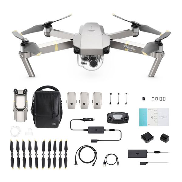 DJI Mavic Pro Platinum FLY MORE COMBO Quadrocopter 4K