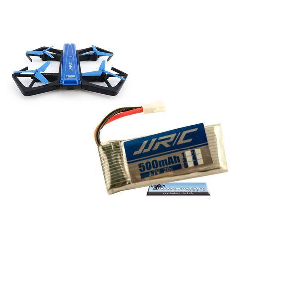 DS24 Ersatz Akku für JJRC H43WH Crab Drohne 3.7V 500mAh - Quadrocopter Lipo – Bild 1