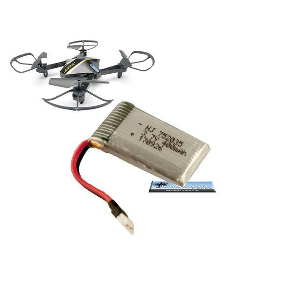 Ersatz Akku 3.7V 400mAh für JJRC H44WH - I Drone I5HW Drohne  - Quadrocopter Lipo – Bild 1