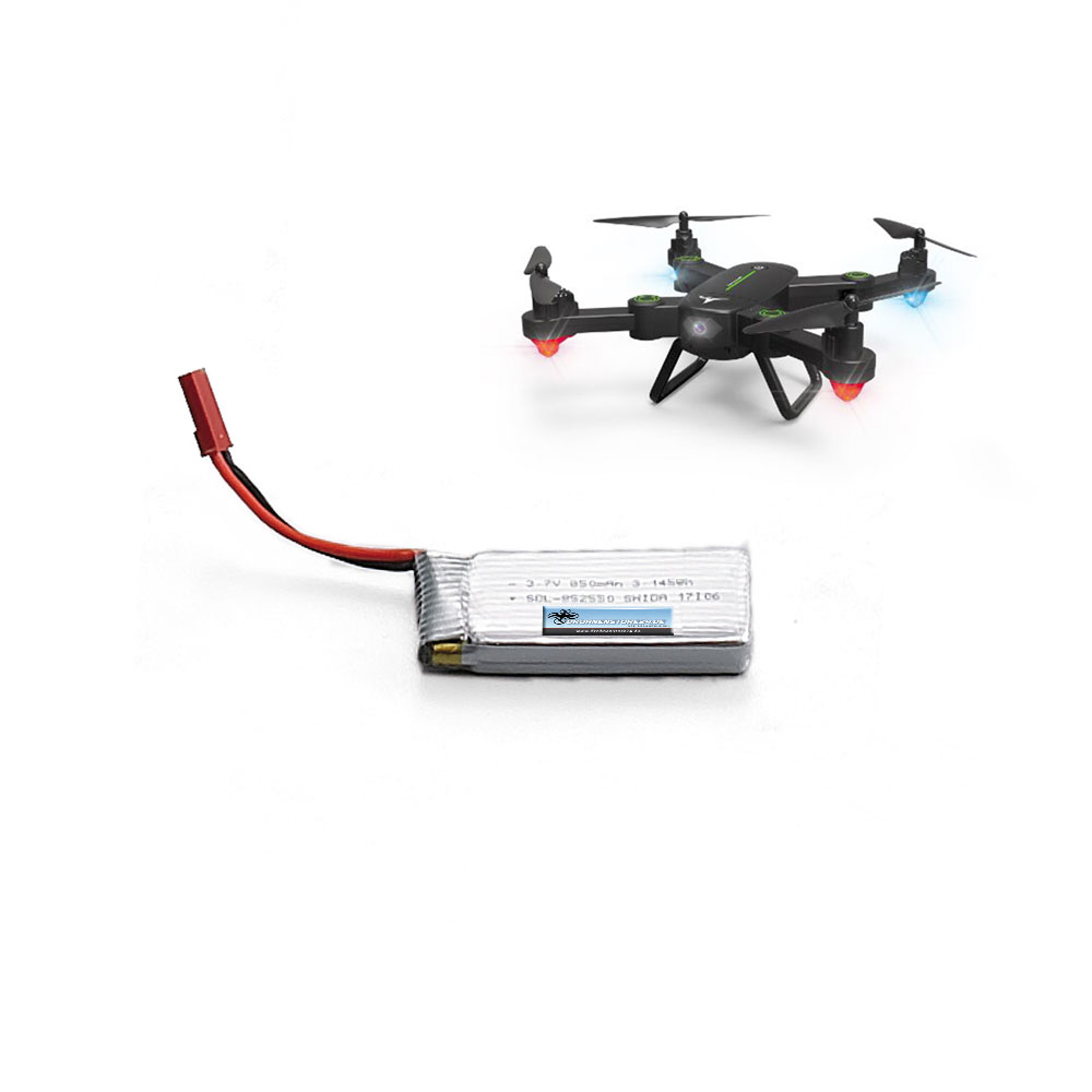 DS24 Ersatz Akku für F16W Drohne 3.7V 850mAh - Quadrocopter Lipo