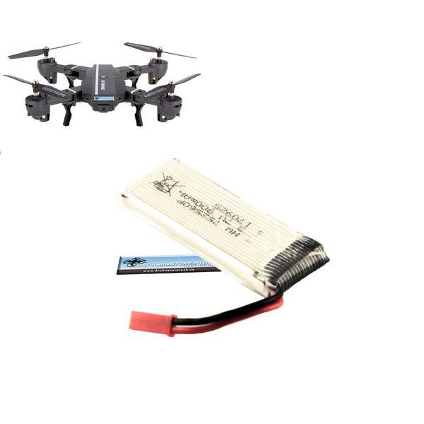 DS24 Ersatz Akku für 8807W Drohne 3.7V 900mAh - Quadrocopter Lipo – Bild 1