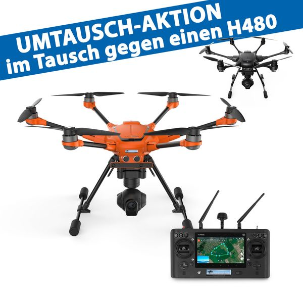 Yuneec Typhoon H Upgrade auf H520