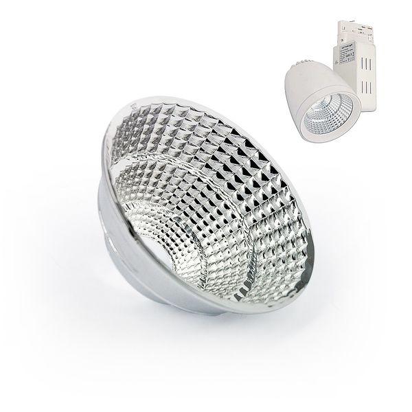 CLE Alu-Wechselreflektor für Strahler UPTL02 45 Grad