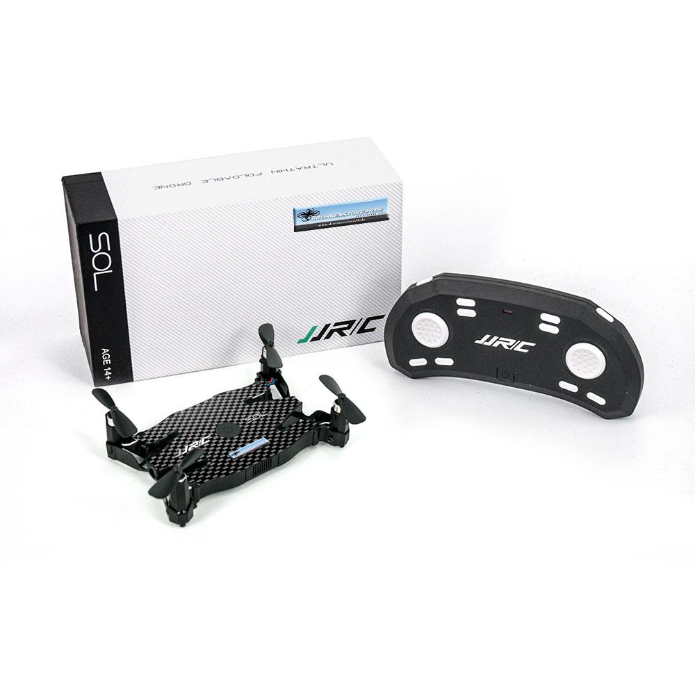 DS24 JJRC H49WH SOL Drohne WIFI FPV 720P Kamera - Schwarz - Selfie Quadrocopter