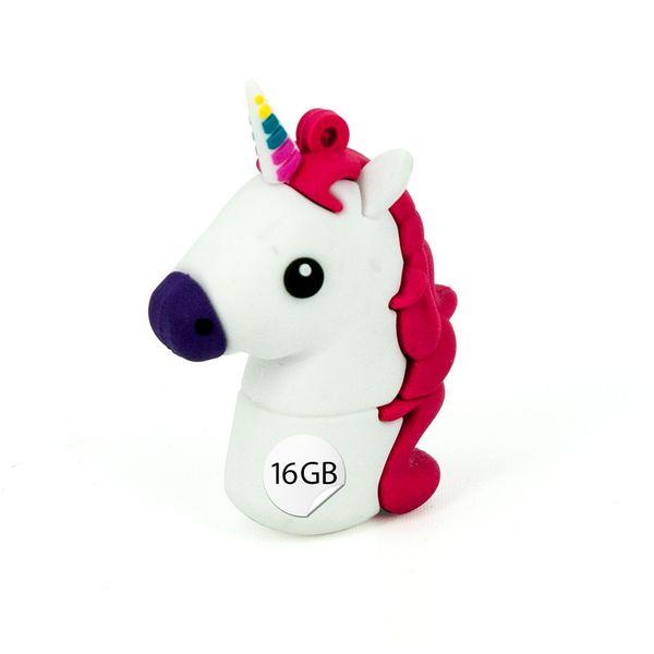 USB Stick 16 GB im Einhorn Design - Unicorn Regenbogenfarben Memory Stick