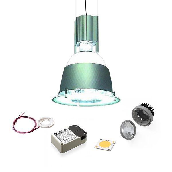 CLE LED Hallenleuchte NEW LEXA 370 40W 4000K 4000Lumen - alu grau