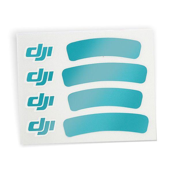 DJI Sticker 4er SET Aufkleber für DJI Phantom 3 Serie - pink, rosa, rot glänzend, türkis – Bild 3