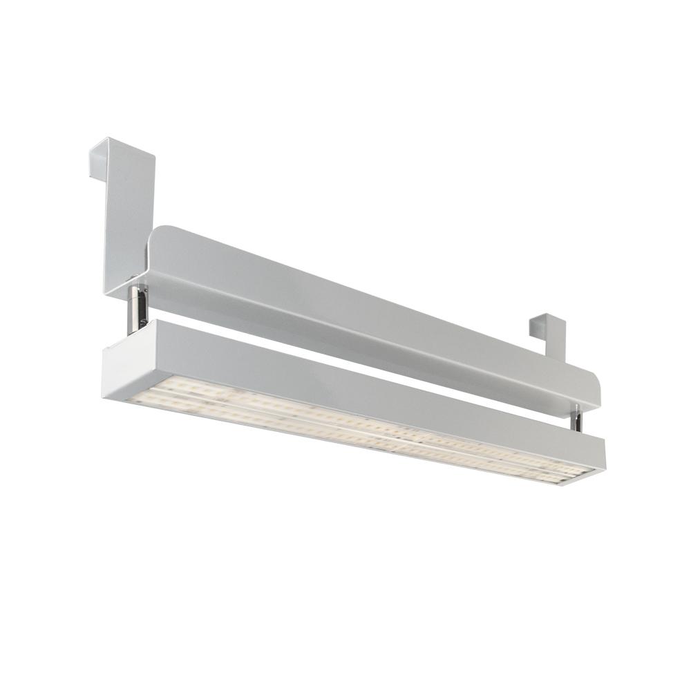 CLE Linear LED PowerStripe Hang Systemleuchten mit Bügel - 4200lm 30W 3000K Weiß
