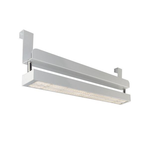 CLE Linear LED PowerStripe Hang Systemleuchten mit Bügel - 4200lm 30W 3000K Weiß – Bild 1