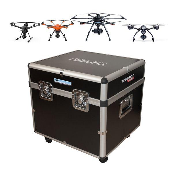 DS24 Drohnen Universalkoffer für z.B. Typhoon H H520 H920 Q500 - Koffer mit Rollen - Koffer ohne Inlay – Bild 1