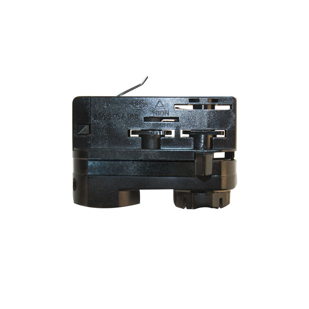 cle 3 phasen stromschienenadapter adapter schwarz mit 5m kabel und endh lsen m belmarktshop zubeh r. Black Bedroom Furniture Sets. Home Design Ideas