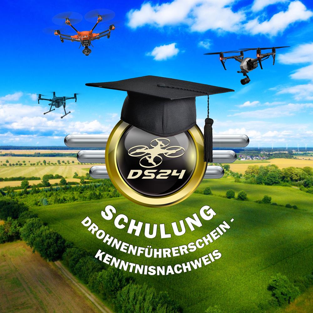 DS24 Online Kurs: Schulung für den Drohnenführerschein - Kenntnisnachweis