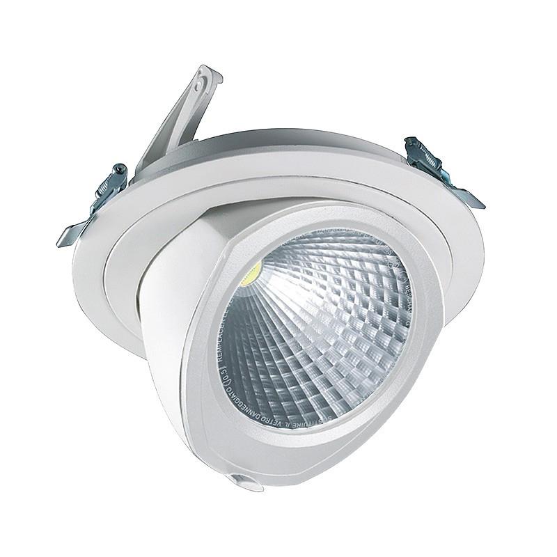CLE LED YK Einbauleuchte mit Fortimo Philips LED SLM Modul 3600lm 28W weiß