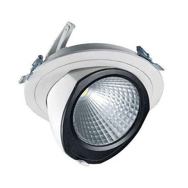 CLE LED YK Einbauleuchte mit Fortimo Philips SLM Modul 3400lm 28W weiß  – Bild 1