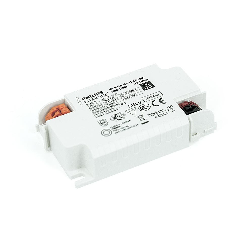 Philips Mini LED Driver Xitanium 150mA 29-40V 6W 230V TE SC DIM Konstantstrom Trafo Netzteil Netzgerät