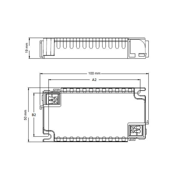 Philips Xitanium Mini LED Treiber 15W 0.75A 20V TE SC 230V Dimmbar – ohne Zugentlastung – Bild 2