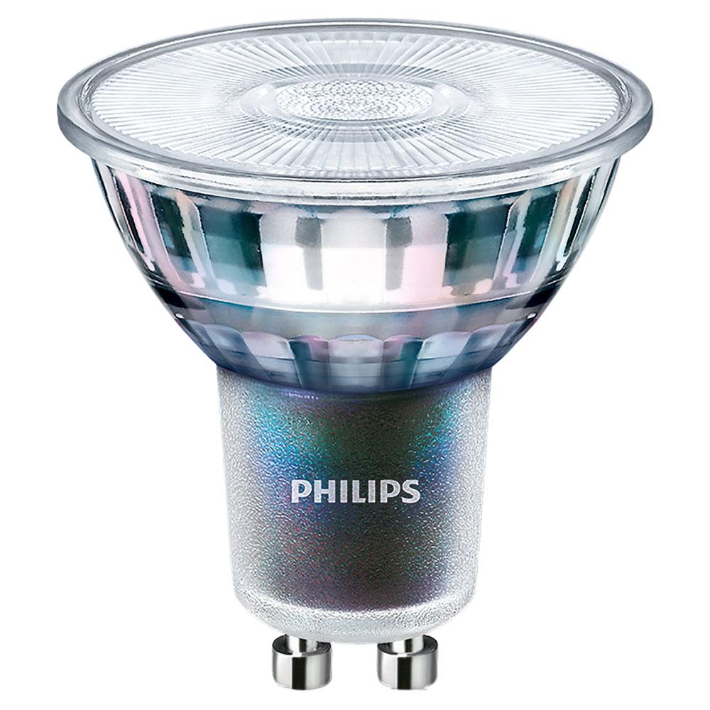 Philips MASTER LEDspot ExperColort 5,5W Ersetzt 50W GU10 927 25 Grad DIM 355lm 2700K warmweiß extra