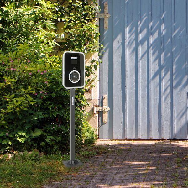 Standfuß Wallbox HF Serie schwarz für Elektrofahrzeug Hybrid EV – Bild 6