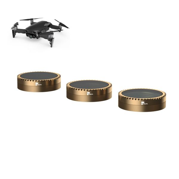 PolarPro 3-Pack Filter für DJI Mavic Air - Vivid Collection - Cinema Series - ND4/PL, ND8/PL, ND16/PL- Premium Qualität  – Bild 1