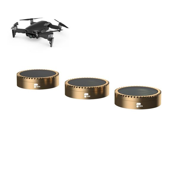 PolarPro 3-Pack Filter für DJI Mavic Air - Shutter Collection Cinema Series ND4, ND8, ND16- Premium Qualität  – Bild 1