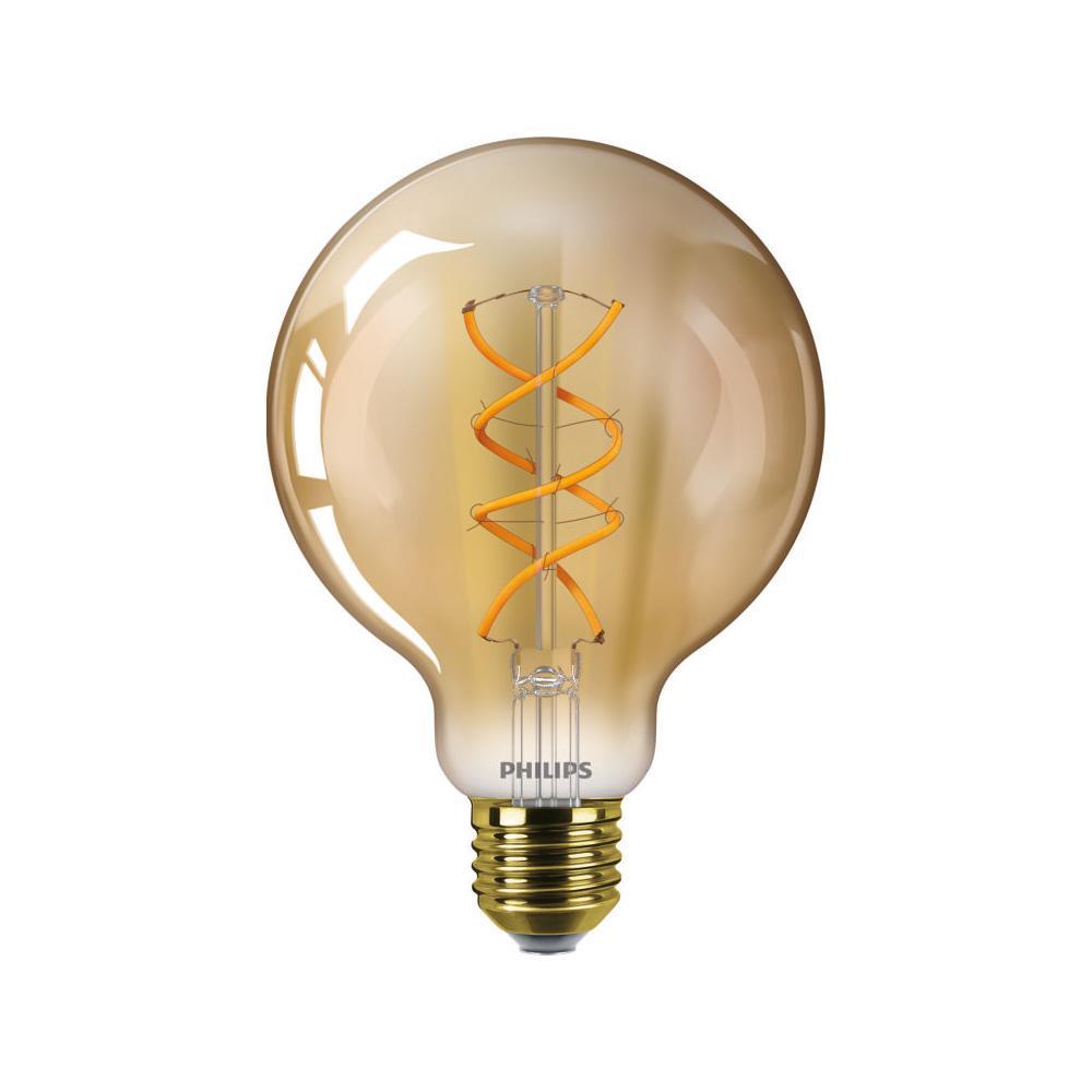 Philips Classic LEDbulb 5W Ersetzt 25W E27 820 250lm gold vintage Fillament warmweiß