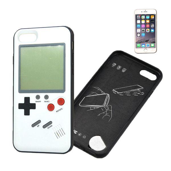 Retro Game Case Schutzhülle für iPhone 6/6S weiß echte Spielekonsole