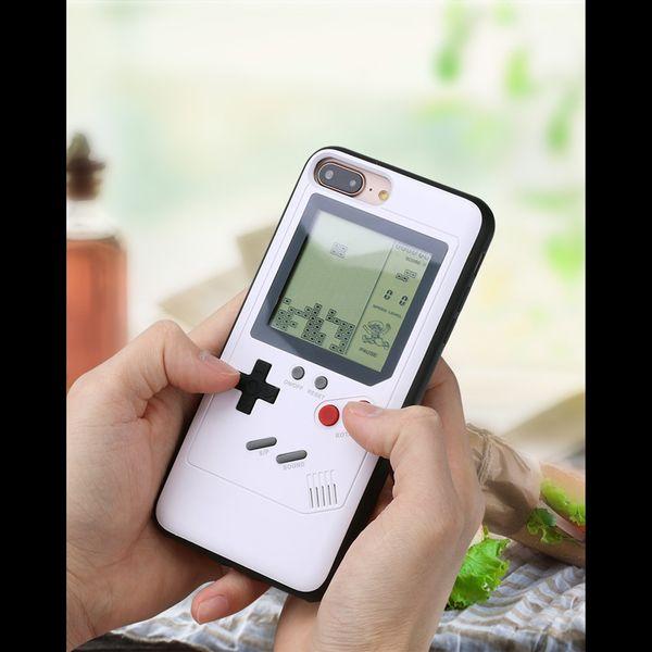 Retro Game Case Schutzhülle für iPhone 7/8 Plus schwarz echte Spielekonsole  – Bild 6