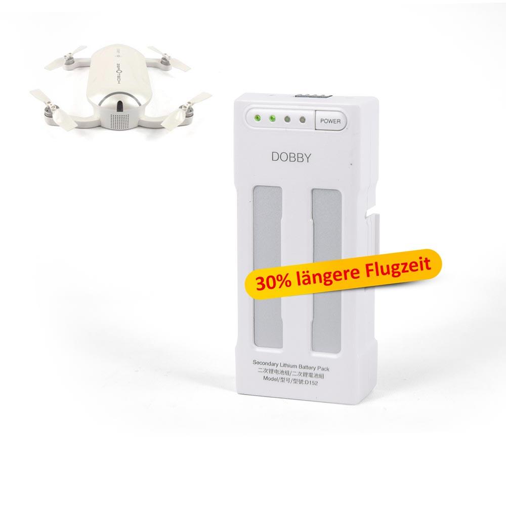Zerotech Ersatzakku 2S 1300mAh D152 Dobby Selfie Drohne 30% längere Flugzeit